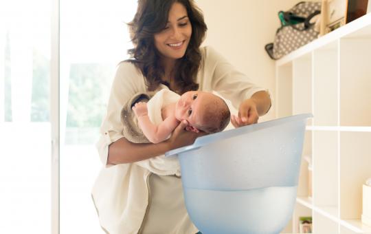 kąpiel noworodka